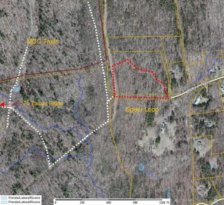 Speer Trail Map