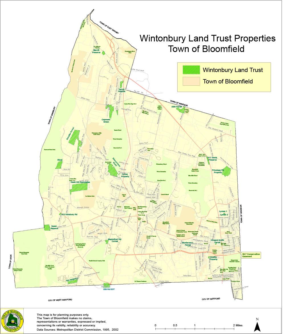 Wintonbury Land Trust Properties
