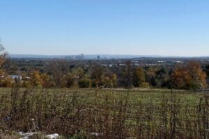 Photograph of Hartford skyline from Hawk Hill
