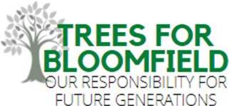 Logo for the Trees for Bloomfield campaign